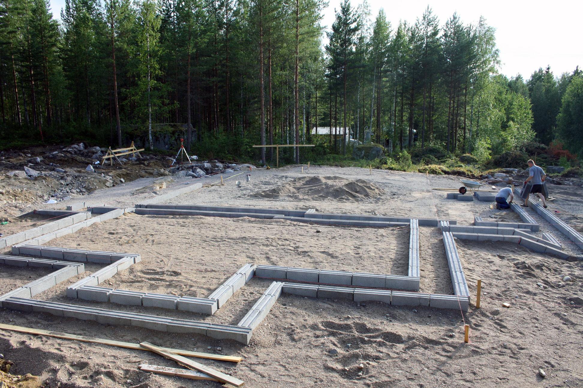 Omakotitalon rakentaminen