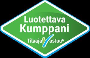 Tilaajavastuu / luotettava kumppani logo