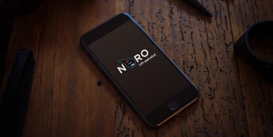LVI-Nero Oy puhelimen aloitusvalikkokuva