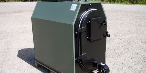 Veda lämmityskattilat. Kuvassa 50 kW-laite