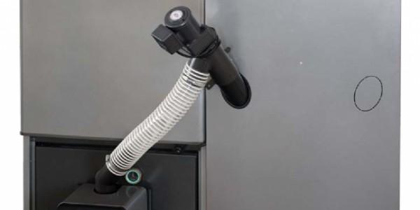 Pellettijärjestelmät. Kuvassa Nibe Pellux 200