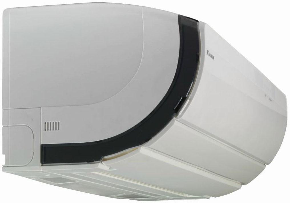Daikin Ururu Sarara-ilmalämpöpumpun sisäyksikkö FTXZ-N sivulta