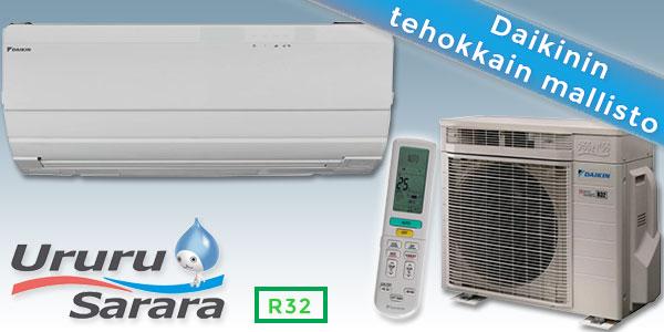Daikin Ururu Sarara-ilmalämpöpumput