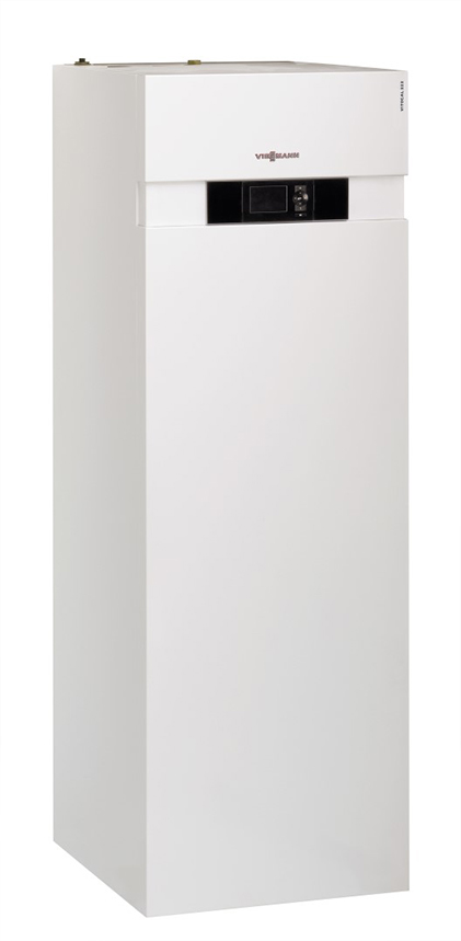 Viessmann Vitocal 222-G maalämpöpumppu - sivulta