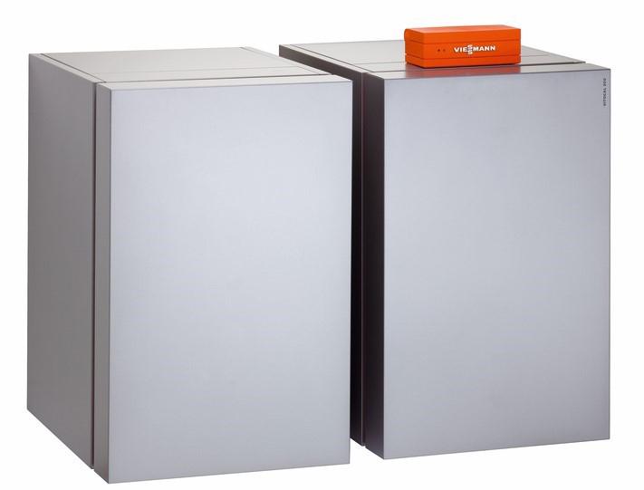 Viessmann Vitocal-300-G maalämpöpumppu - sivulta