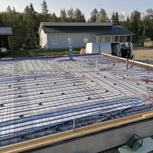 Lattialämmitys asennettuna - Jyväskylä
